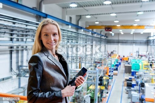 istock Happy to being manager! 610221078