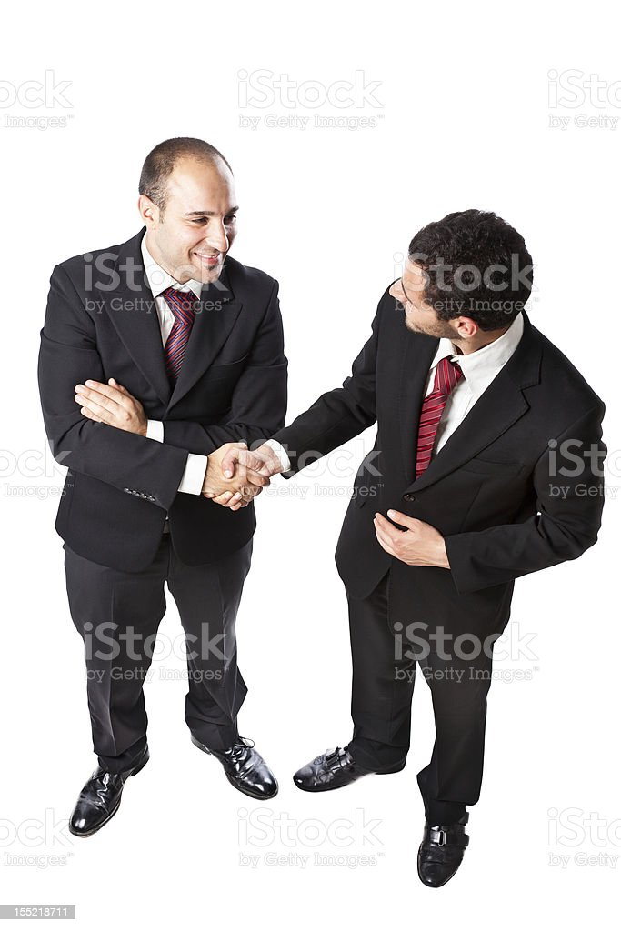 Happy to work with you royalty-free stock photo