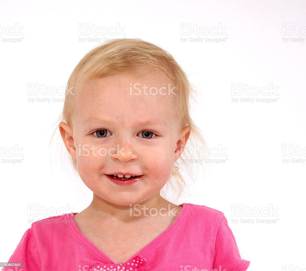 Happy Toddler Girl royalty-free stock photo