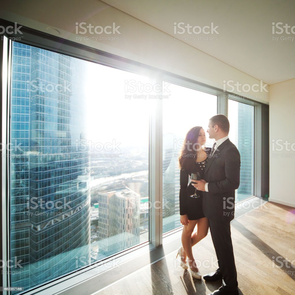 Happy together royalty free stockfoto