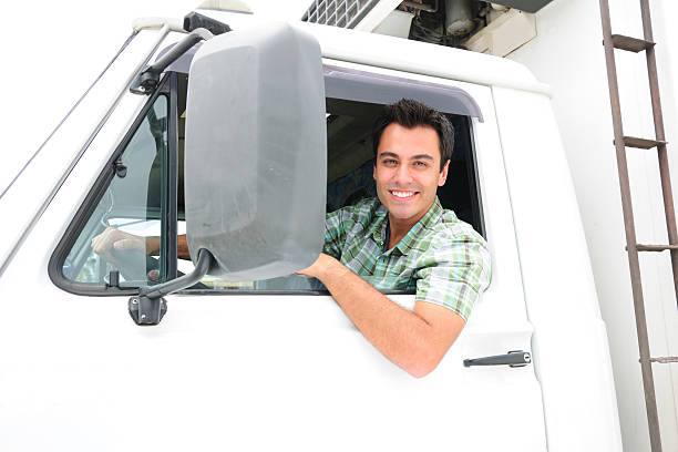 happy Lkw driver – Foto