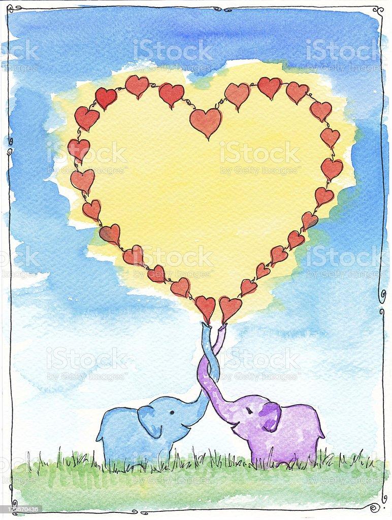 Happy Valentine royalty-free stock photo
