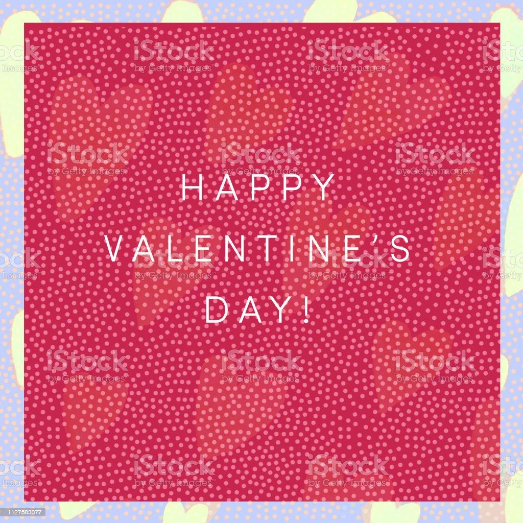Happy Valentine\'s Day card. Happy Valentine\'s Day banner or design...