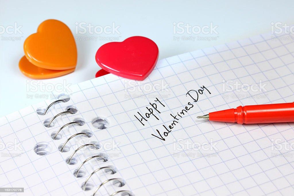 Happy Valentines day royalty-free stock photo