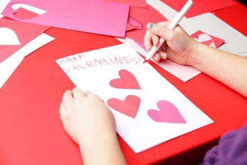Happy Valentines Day Stock Photo - Download Image Now