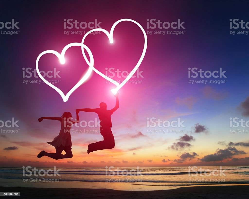 Happy Valentines day stock photo