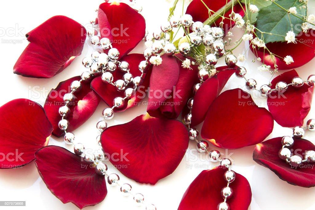 Feliz Día De San Valentín Rojo Color De Rosa Entre El Color De Rosa ...