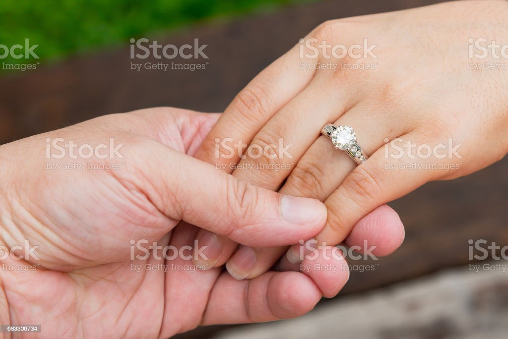 Happy woman hand royalty free stockfoto