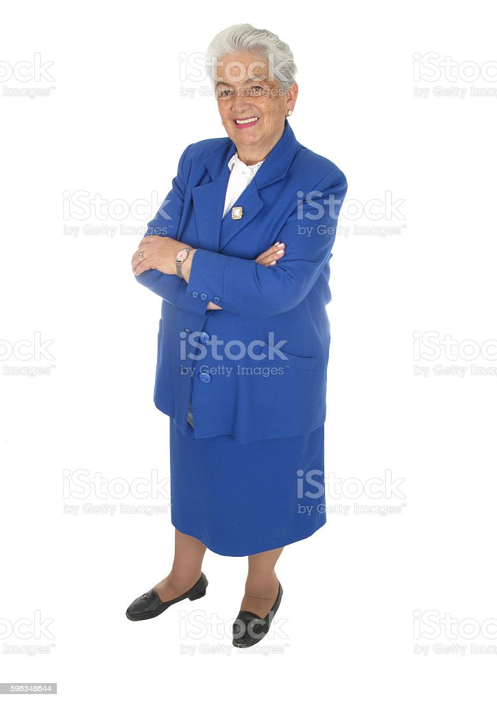 Happy Woman  Isolated royalty-free stock photo