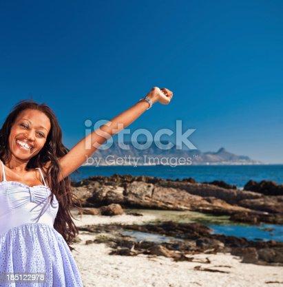 508455188 istock photo Happy woman on vacation 185122978