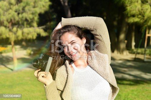 istock Happy Woman 1052004902
