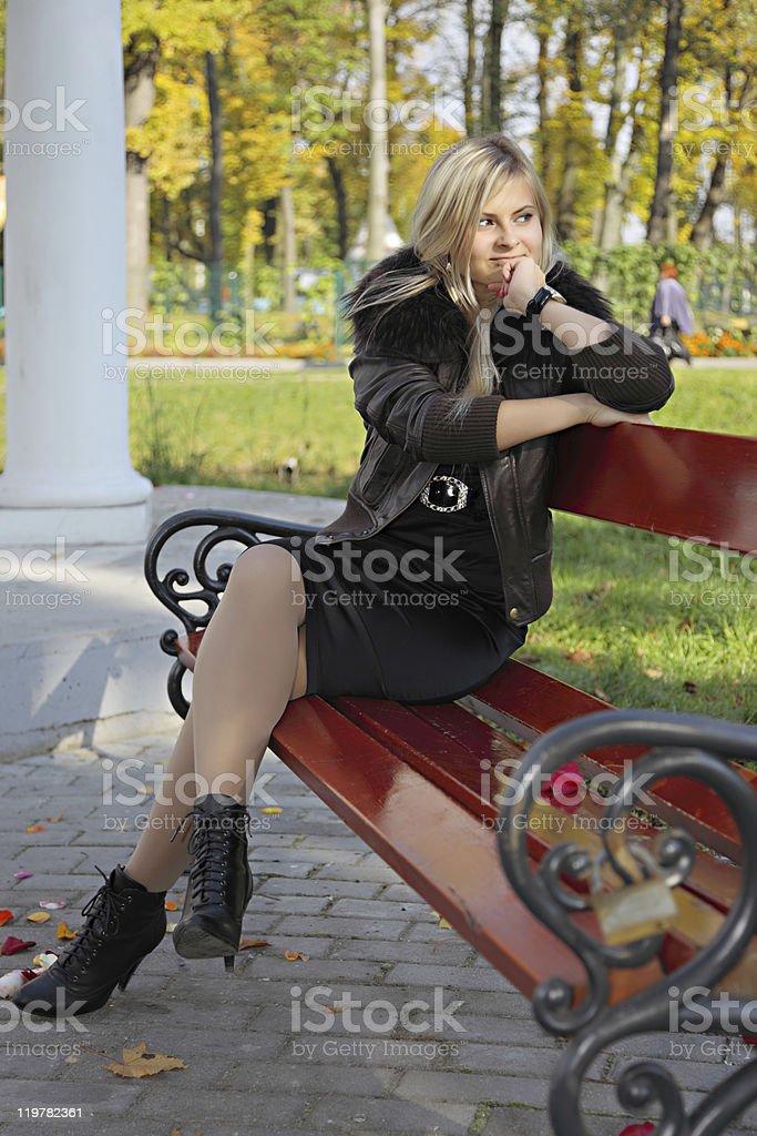 Mujer feliz - foto de stock