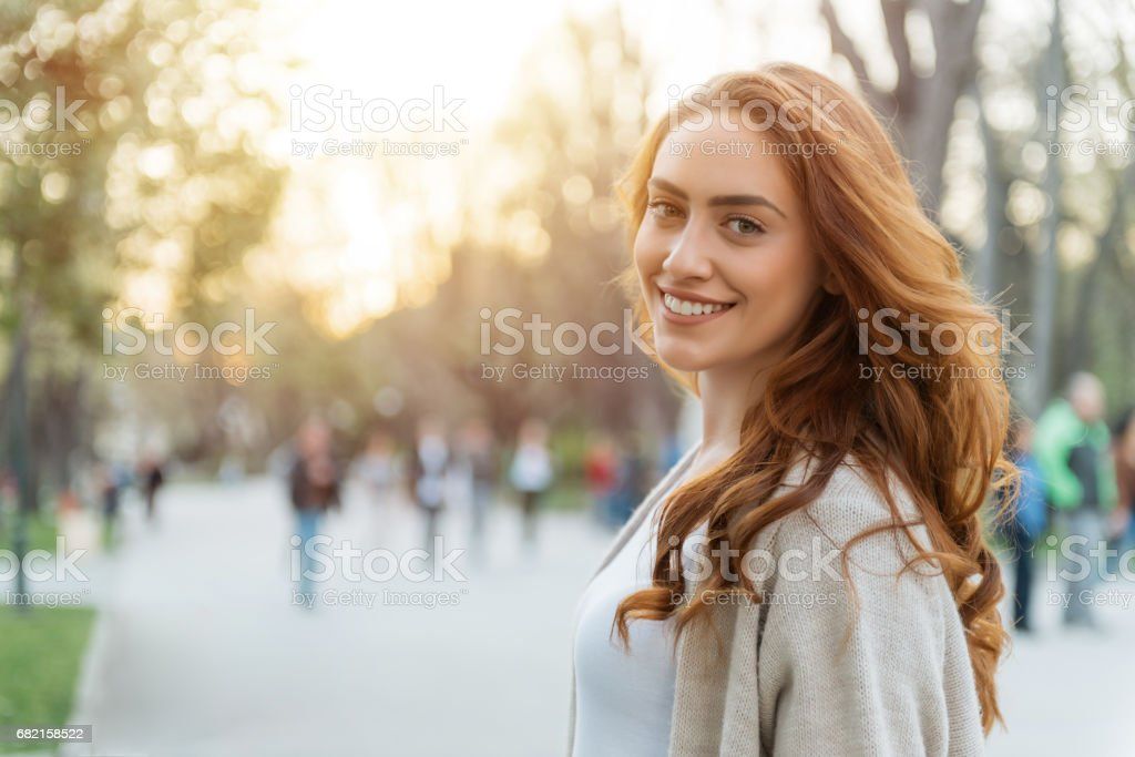 Happy woman - foto stock