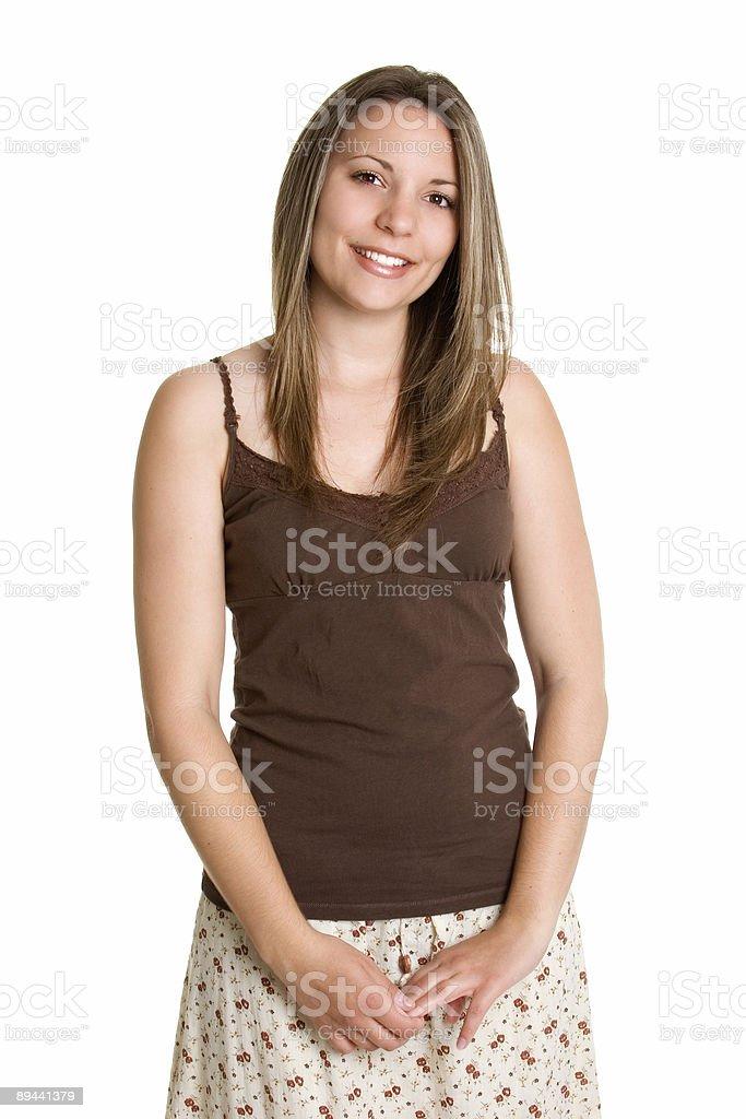 Szczęśliwa kobieta zbiór zdjęć royalty-free