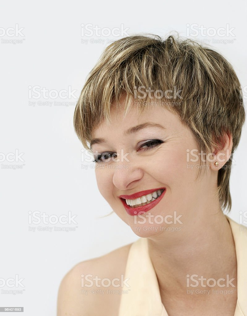 Happy woman - Royalty-free Adult Stock Photo