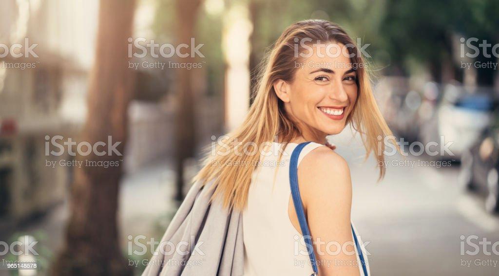 Happy woman zbiór zdjęć royalty-free