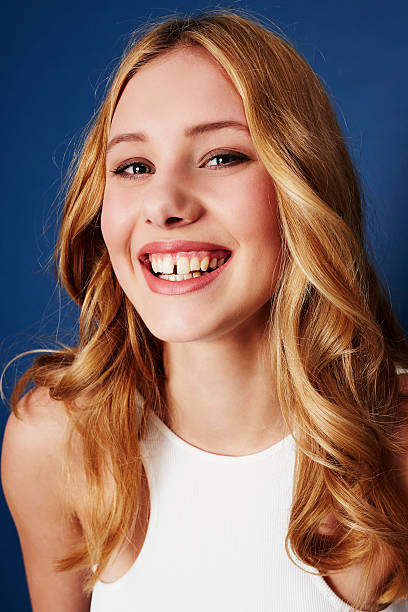 Woman Missing Teeth Stock Photos, Pictures & Royalty-Free