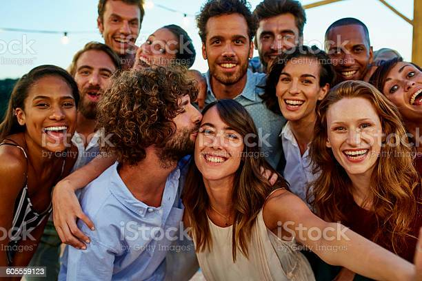 Happy woman taking selfie with friends picture id605559123?b=1&k=6&m=605559123&s=612x612&h=yrdoe7lih7 tmei5a 9y5dui95l0yak47dhpggkes m=
