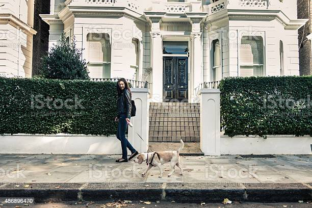 Happy woman walking with dog in early sunday morning picture id486896470?b=1&k=6&m=486896470&s=612x612&h=ix2rgeeaqtv   8yvq0vzrvcslrlol4vbb ilst5dl0=