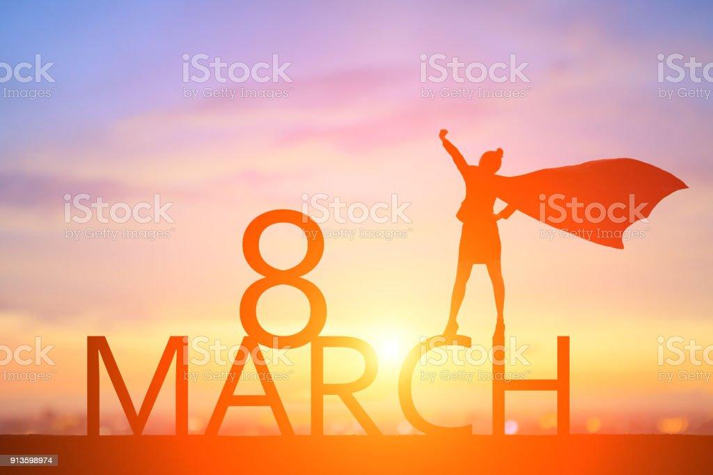 happy Women Day stock photo
