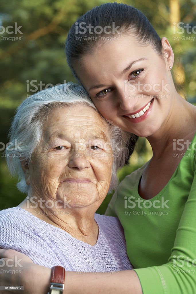 Happy women royalty-free stock photo