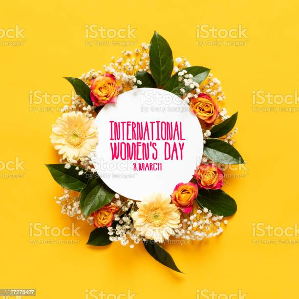 Happy womens day background floral flat lay greeting card template picture id1127278427?b=1&k=6&m=1127278427&s=612x612&h=hcofdl2w30lcu2p5zwxrgfn39j9v5cocv3q7dpu5pzm=