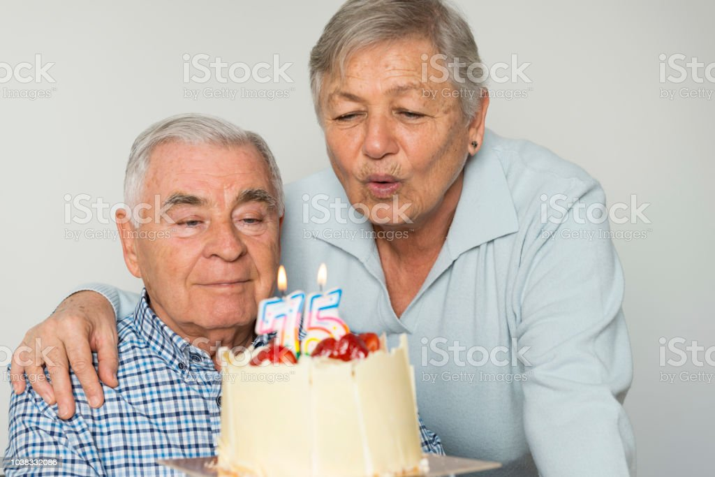 75 Happy Year stock photo