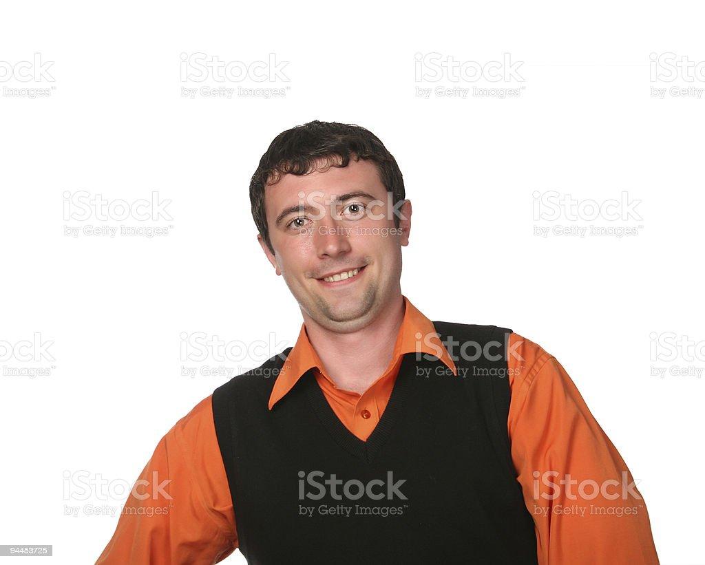 happy youn man royalty-free stock photo