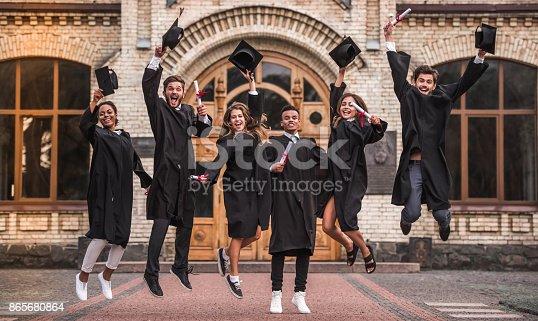 istock Happy young alumni 865680864