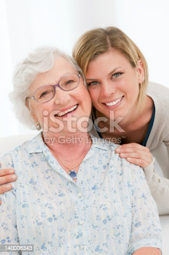 144362548istockphoto Happy young and old women 140008343