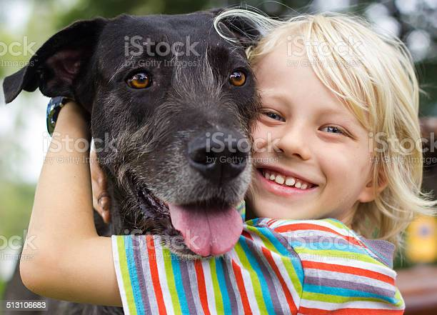 Happy young boy lovingly hugging his pet dog picture id513106683?b=1&k=6&m=513106683&s=612x612&h=gjvdtrclsy11cxpuobre3ut1uv4lk3xpwnczesfquiu=