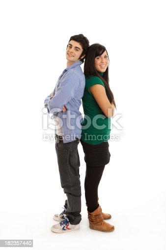 istock Happy young couple 182357440