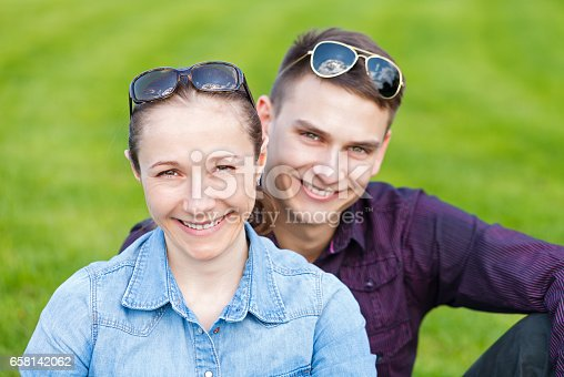 istock Happy young couple 658142062