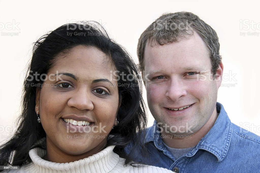 Happy Young Couple royalty free stockfoto