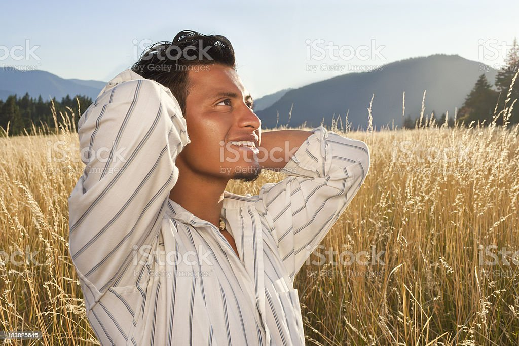 Happy Young Man royalty-free stock photo