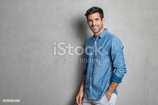 825083570 istock photo Happy young man 825083488