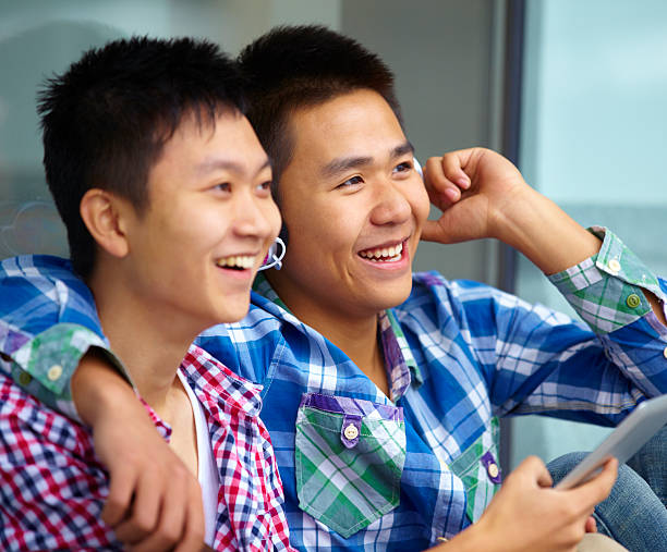 Royalty Free Gay Asian Boy Pictures, Images and Stock