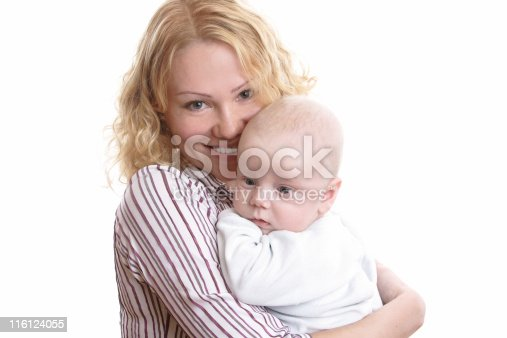 471164880 istock photo Happy young mother with baby 116124055