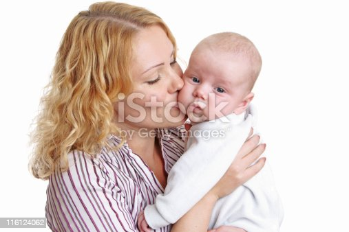 471164880 istock photo Happy young mother with baby 116124062