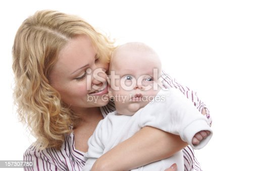 471164880 istock photo Happy young mother with baby 157307780