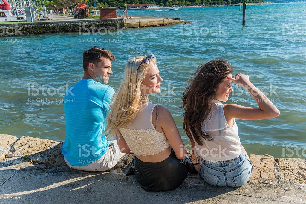 Homosexual summer enjoyment