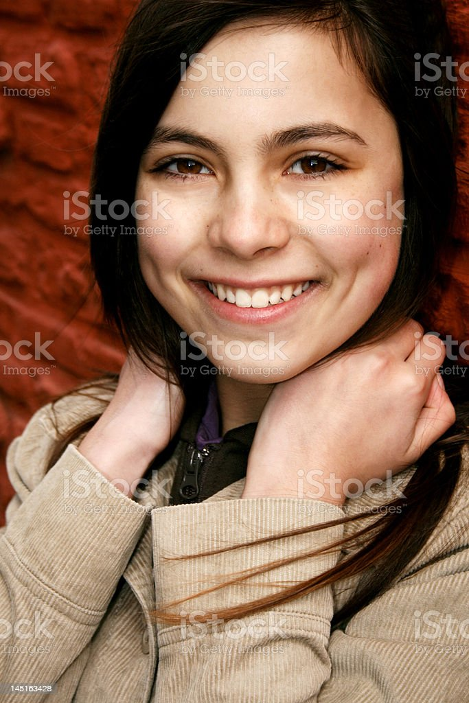 Happy Young Student with Big Smile royalty-free stock photo