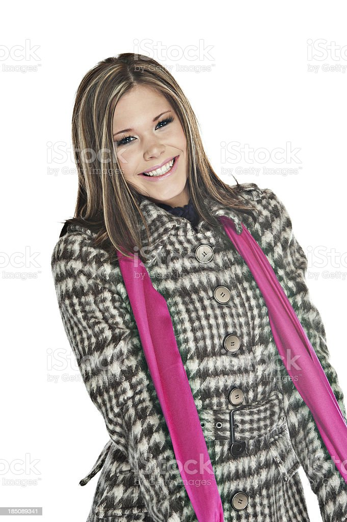 Happy Young Teenager stock photo