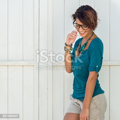 istock Happy Young Woman 531585037