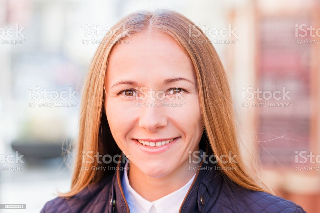 Happy young woman foto de stock royalty-free