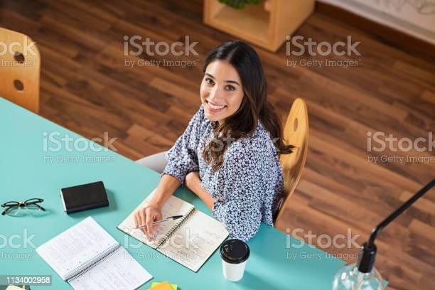 Happy young woman studying picture id1134002958?b=1&k=6&m=1134002958&s=612x612&h=nnpxqk1gbhajd6ha6ijwlk3k3roge3mferxbdiksrlw=