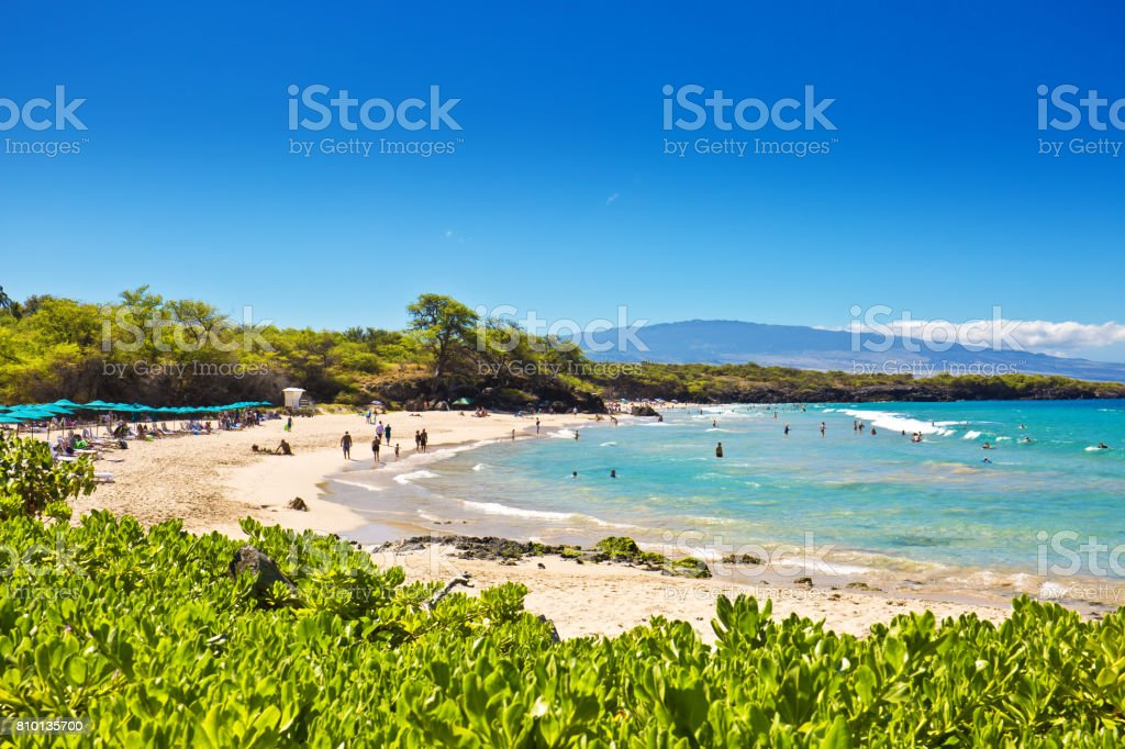 Hapuna Beach On The Big Island Of Hawaii Stock Photo Download Image Now