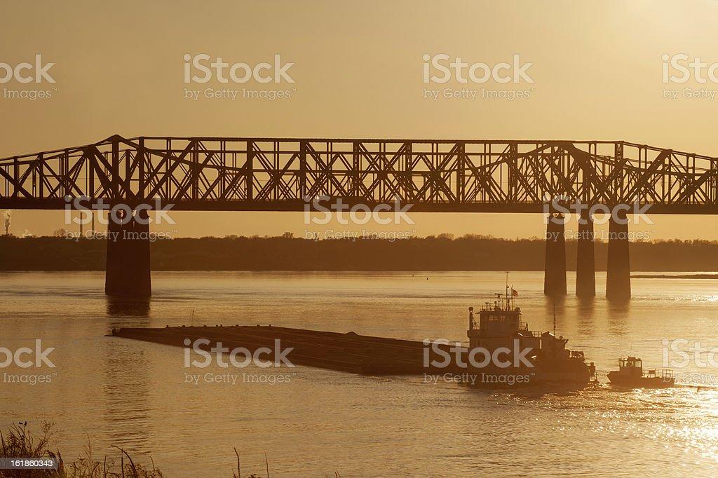 Harahan Bridge royalty-free stock photo
