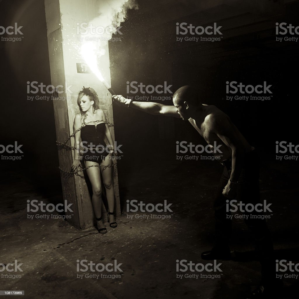 Harassment - Bela Lugosi Series V stock photo