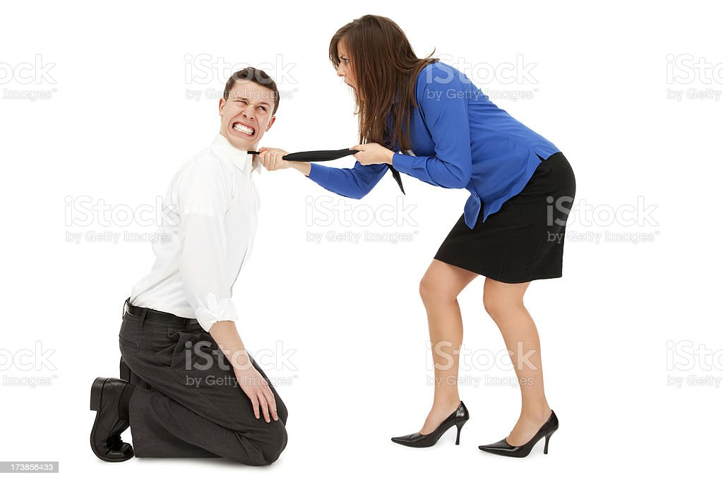 Harassment in the Workplace royalty-free stock photo